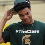 Miles Bridges commitment. #TheClass (Photos by @SeanScherer247) http://t.co/4jDBf7HHmk
