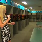 .@erin_molan takes you through the exclusive @brisbanebroncos change room! #NRLGF #SundayFootyShow http://t.co/YZ7HHt2NnM