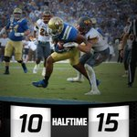 Fairbairn's 53-yard bomb brings the #Bruins within 5 at the half. @UCLAFootball 10 - ASU 15 | Halftime #ASUvsUCLA http://t.co/J2SL3IjUJ5