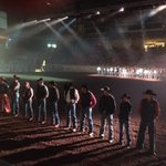 2nd perf of the @prorodeocanada series final is underway in Calgary #proseriesrodeo #yycevents http://t.co/yRF6KpSy6n