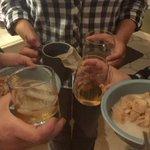 All four food groups... Apple crisp, scotch, bourbon, and tea @bustedjj  @AverieClark http://t.co/9kA58OQNqv
