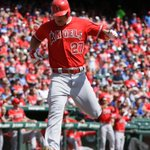 COMEBACK COMPLETE! Angels defeat Rangers, 11-10. LAA trails Astros by ½ game for 2nd Wild Card spot. http://t.co/jBcYOM5AXX