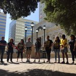 #CaravanForJustice launches in #Oakland on the heels of @JerryBrownGovs signing of #AB953 http://t.co/uAPuzkpa4W