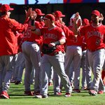 Last time @Angels scored 5+ runs in the 9th to win a 9-inning game by 1 run was Aug 29, 1986. http://t.co/5AnWPVajCw