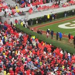 So soon? Aww... RT @CecilHurt: Georgia fans taking an early leave of Sanford Stadium. http://t.co/NNvlK4rQRW
