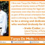 Proud to have the support of Irwin Cotler: past Liberal MP, Order of Cda, friend & colleague #elxn42 #cndpoli #TM4PM http://t.co/AcfPqo6NUR