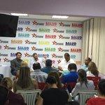 ENCUENTRO | Candidato Ricardo Molina con representantes de instituciones y misiones sociales de ARAGUA @TareckPSUV http://t.co/DXbbhtJS3I