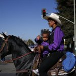 Yeehaw, #Oakland. Today is the 41st annual Black Cowboy Parade. via @lizziejohnsonnn http://t.co/UzBOGM4aMy http://t.co/MN4TPC1iFI