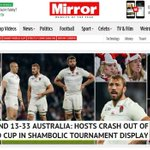 British press reacts to Englands humiliating defeat to @Wallabies http://t.co/7iaLvl19JV #RWC2015 | @SMHsport http://t.co/DBGoKxUAHb