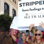 Amber Roses SlutWalk took place today - see pics and details! http://t.co/oAcTbAAkOy http://t.co/qZ7Rj9NHAW