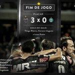 Gols da partida marcados Thiago Ribeiro, Giovanni Augusto e Lucas Pratto! Vamos, #Galo! #GALOxCOXA http://t.co/nFqwZdE8IW