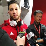 """Osorio: """"Its an exciting time of the year. Seeing the fans so happy, it was a great moment."""" #TFCLive http://t.co/rXhmG1pubk"""