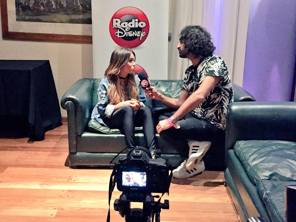 Gracias @laliespos por la nota con @RadioDisneyLA y @ClaroArgentina. #PrismaticWorldTour http://t.co/kZ57MOqcjh