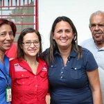 Junto al personal de @salainass candidata d la Patria @SumireFerrara resaltó logros d la Revolución para l@s Abuel@s http://t.co/Ak7jAsNNJd