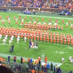 Clemson just recognized the four Notre Dame fans from Warsaw who died in last nights plane crash. http://t.co/ncgOK9SAg2