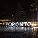 Nuit Blanche can we do this in September when its warm outside? #snbTO http://t.co/wqtC9UIQaQ