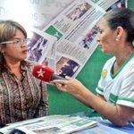 Fotos: Candidata @CarylBertho Visito distintos Medios de Comunicación en la #ExpoAraguaPotencia2015 http://t.co/UJMUtgn8Ro