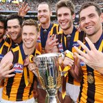 Six men, four brown and gold premierships each. http://t.co/c8mSR1e9w2 #ThreePeat http://t.co/xb0PiUS53e