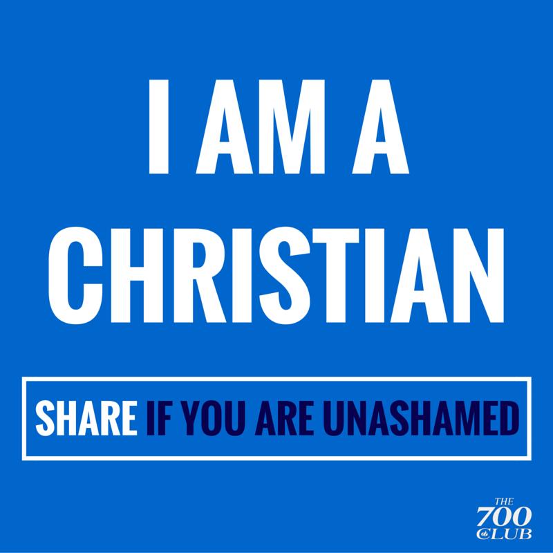 We're standing with America tonight, we are NOT ashamed! #Retweet #IAmAChristian #NotAshamed http://t.co/2LXrvosLs2