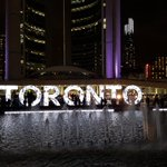 Face of Toronto. #NuitBlanche http://t.co/CFDqiKYK2Y