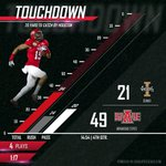 Tabary connects with Houston to increase the lead to 49-20 #WolvesUp http://t.co/eQ5IT1SuXr