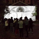 Visit @CampbellHouseTO & have your eye projected live onto the entire building, @jrart #snbTO project #16. http://t.co/waG1uM0OGg