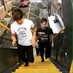 "Calum and Luke be like ""Dont fall, dont fall, dont fall"" #EMABiggestFans5SOS  http://t.co/aP98ZoovP7"