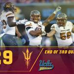 End of Third Quarter ASU 29 | UCLA 10 #ASUvsUCLA http://t.co/2j0sq24HVH