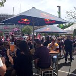 THE beer garden is going off over @TheBrewerySOP! Live music, food & bars - check it out. #NRLGF http://t.co/1GNBikfk1m