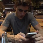 .@StadiumMendes @jackgilinsky hes very focused. (& cute) http://t.co/KXyvoPfElb