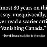 From a letter to the editor on #VanishingCanada by @Anne_Kingston: http://t.co/qbgNyUXUf9 #cdnpoli #elxn42 http://t.co/RsmguALJq2