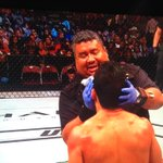 #UFC192 Hey! Isnt that the dude from Lilo and Stitch??? My man! #Aloha http://t.co/N34L4iLvLA
