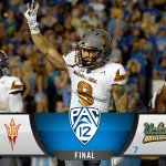 ITS OVER!!! DOWN GO THE #7 BRUINS IN PASADENA AT THE HANDS OF @FOOTBALLASU!!! #Pac12AfterDark http://t.co/y6GzwpVKmz