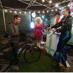 People got married to their bikes as part of a Nuit Blanche event put on by a local bike crew http://t.co/1YYyfy3dyY http://t.co/hPsmc711bQ