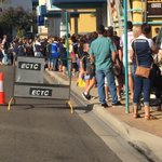 Cowboys fans lining up outside the Leagues Club @7NewsQueensland http://t.co/sr90xc5pWV