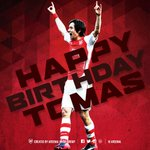 Happy 35th birthday to @Arsenals midfield maestro, Tomas Rosicky! #HappyBirthdayTomas http://t.co/FgoIjLJMUi