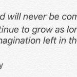 """ดิสนีย์แลนด์จะไม่มีวันสร้างเสร็จ มันจะเติบโตไปเรื่อยๆ ตราบที่ยังมี""""จินตนาการ"""" หลงเหลืออยู่บนโลกใบนี้  -วอลต์ ดิสนีย์ http://t.co/l71luAk7qn"""