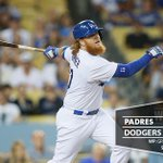 RECAP: @redturn2 homers, Greinke notches 200th K as #Dodgers secure #NLDS home-field edge. {http://t.co/A4bxU9PkQF} http://t.co/sABlq6B97R
