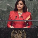 Congratulations Dunya on an excellent statement at UN General Assembly yesterday. Proud of you! http://t.co/Kz34xcLSiO