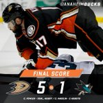 #NHLDucks thrash rival @SanJoseSharks, close #NHLPreseason with five straight wins: http://t.co/4XrAknW8Z8 http://t.co/Z73NukHSzf