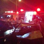 #AlertaSV  Múltiple accidente en Autopista Comalapa. Conduce con precaución en la zona.   Foto: @Gerald_Torre http://t.co/oFv6Cc916y