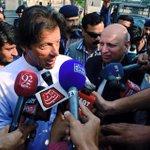 Chairman #PTI @ImranKhanPTI while talking to media at Lahore Airport. #چلو_چلو_ڈونگی_گراونڈ_چلو http://t.co/cFh7HW2eu1