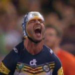 """That could have been the greatest moment in Rugby League history!"" The game goes to Golden Point. #NRLGF #WWOS http://t.co/CVWSYw6toe"