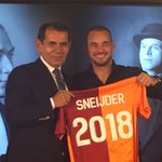 Wesley Sneijder stays at Galatasaray until 2018! #Sneijder2018 http://t.co/eBnf7i3gmW