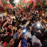 Three Jalsas in one night. I can still carry on seeing the enthusiasm of PTI workers/activisits. Jalsa at UC 92. #MS http://t.co/ioCyKEqofp