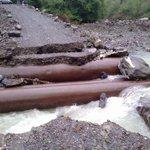 Valbrevenna @parcoantola ancora colpita da piogge la scorsa notte,al lavoro per ripristinare la strada di fondo valle http://t.co/WTDyVQRy8B