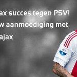 Om 14:30 uur #Ajax - PSV! De mooiste #wijzijnajax-posts laten we zien in het stadion! #ajapsv