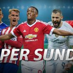 #MerseysideDerby #Arsenal v #MUFC #MadridDerby It is Super Sunday LIVE on SuperSport. #SSFootball http://t.co/a0LM9tSy2K