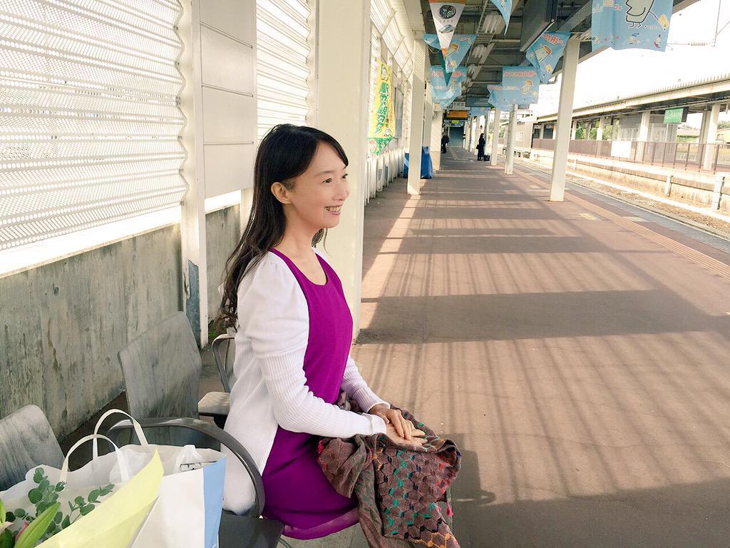 大石田駅にて http://t.co/I8ZBkQimw1