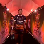 Justin Hodges has only 40 minutes left of NRL left in his career, here we go... #NRLGF #WWOS http://t.co/QtxoKax5Ye